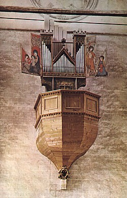 Notre Dame de Valere Sion Organo Più Antico Mondo