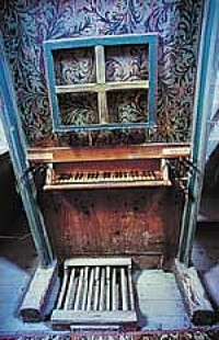 Tastiera Pedaliera Organo Antico
