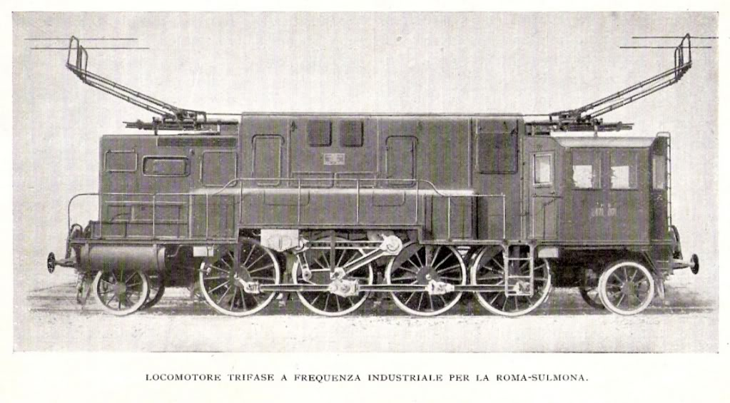 Locomotiva Elettrica Trifase E.471 - Kalman Kando Loco